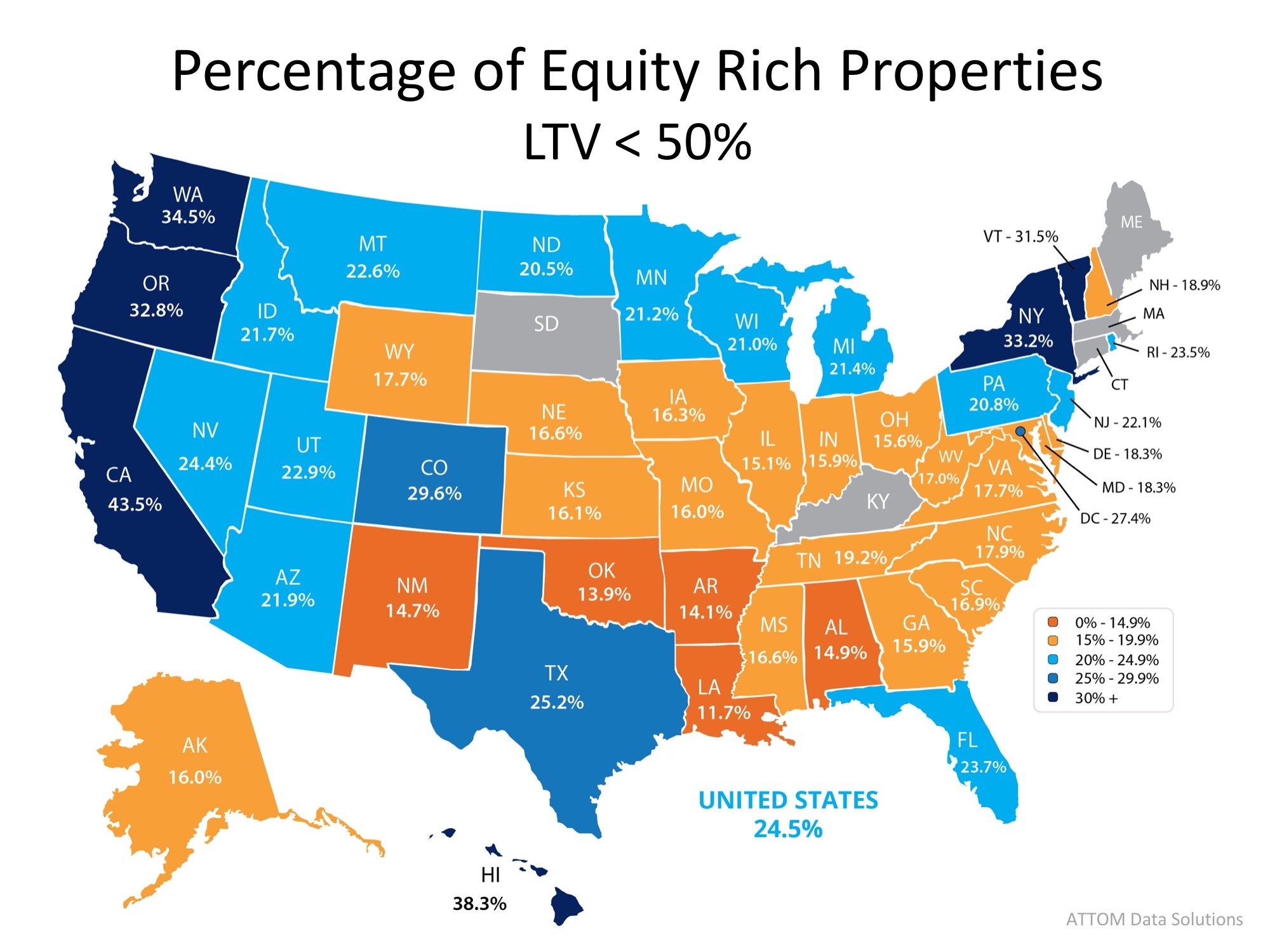 25% of Homes with a Mortgage are Now Equity Rich! | Simplifying The Market
