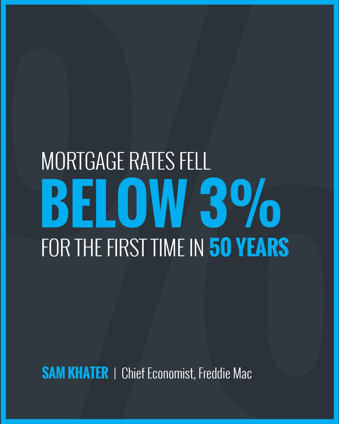 Mortgage Rates Fall Below 3% [INFOGRAPHIC] | Simplifying The Market